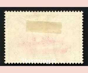 briefmarkenkatalognummer 19 deutsche Kolonien rueckseite