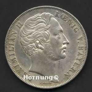 Doppelgulden 1849 Maximilian Ii Von Bayern Hornung Feine Sachwerte