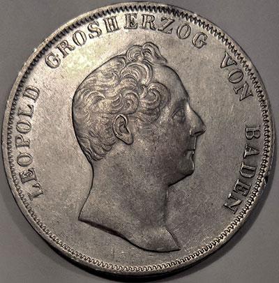 1 (Silber-)Gulden 1841 - Avers