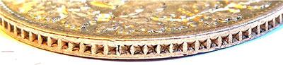 1 (Silber-)Gulden 1841 - Randprägung