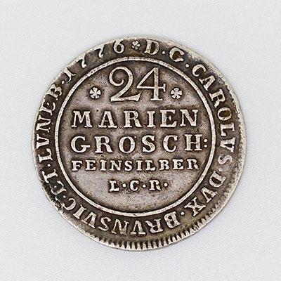 24 Mariengroschen (2/3 Thaler) - Revers