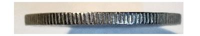 10 Rentenpfennig 1924 - Rand