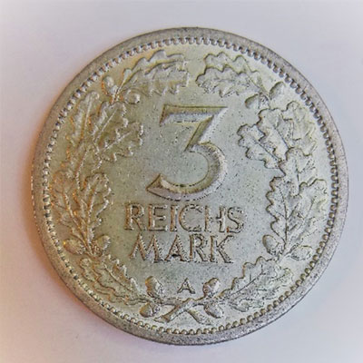 3-reichsmark-revers
