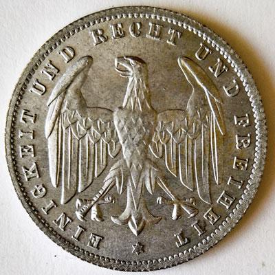 500 Mark 1923 - Avers