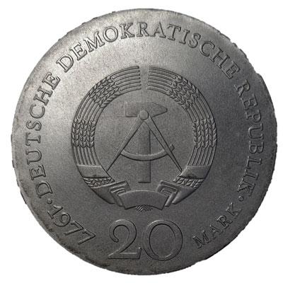 DDR-20-Mark-1977-Revers
