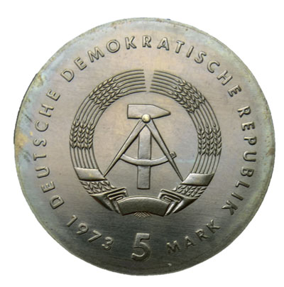 DDR-5-Mark-1973-Revers