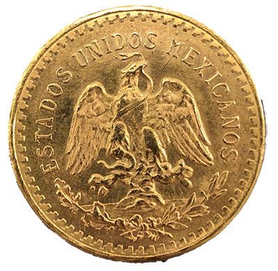 Mexiko 50 Pesos Revers