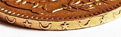 Französisches Protektorat Tunesien-20-Francs-Rand